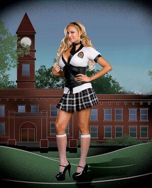 NYC Prep Plus Size Sexy School Girl Costume