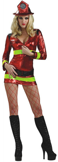 Fearless Sexy Firefighter Costume