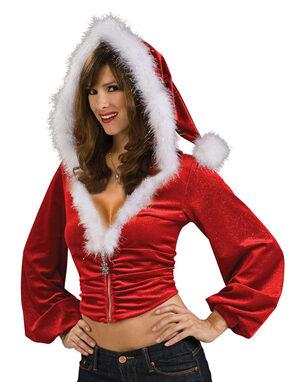 Santa Red Hoodie