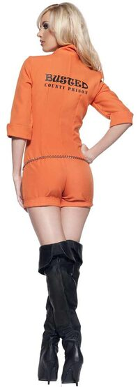 Busted Sexy Convict Costume