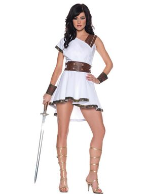Olympia Sexy Greek Goddess Costume