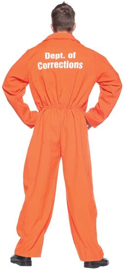 Maximum Security Mens Convict Costume