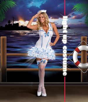 Lightup Sexy Sailor Costume