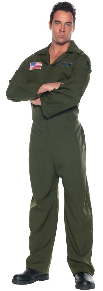 Mens Adult Air Force Jumpsuit Costume  sc 1 st  Mr. Costumes & Mens Adult Air Force Jumpsuit Costume - Mr. Costumes