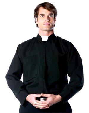 Mens Adult Priest Costume
