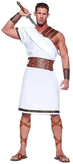 Mens Ancient Greek Warrior Costume
