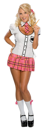 Naughty Sexy School Girl Costume