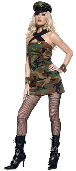 Sexy Army Cadet Costume