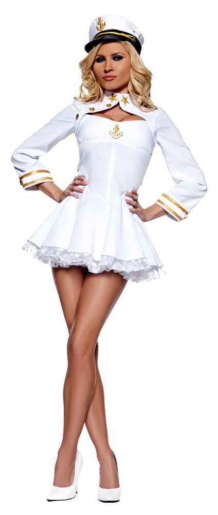 Elegant Admiral Sexy Sailor Costume  sc 1 st  Mr. Costumes & Elegant Admiral Sexy Sailor Costume - Mr. Costumes
