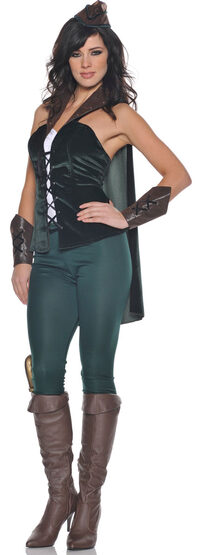 Sure-Wood Sexy Robin Hood Costume