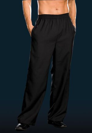 Adult Mens Black Pants