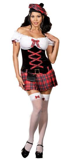 Scottish Sassy Lassie Sexy Plus Size Costume
