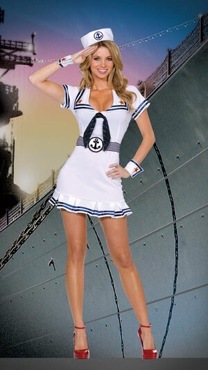 Cruise Cutie Sexy Sailor Costume