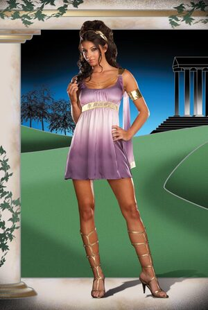 Mythical Muse Sexy Greek Goddess Costume