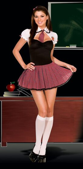 Straight A Student Sexy School Girl Costume