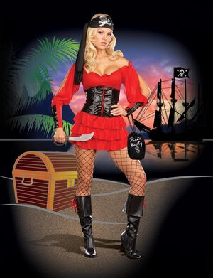 Family Jewel Sexy Pirate Wench Costume