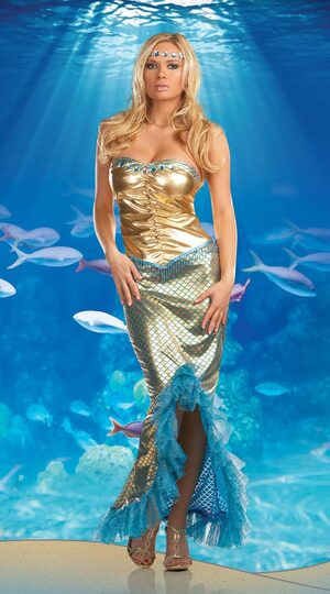 Sea Worthy Sexy Mermaid Costume