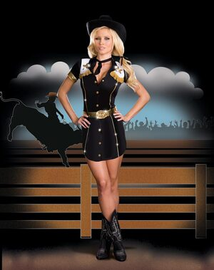 Rodeo Gal Sexy Cowgirl Costume