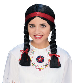 Native American Female Wig - Adult / Teens