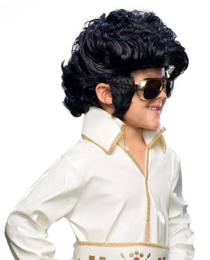 Rock Star Elvis Wig