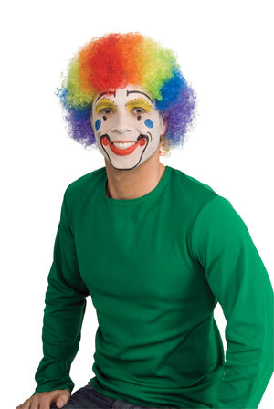 Popular Clown Multi Colored Wig