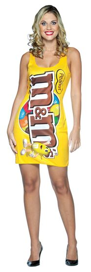 Sexy Peanut M and M Candy Costume