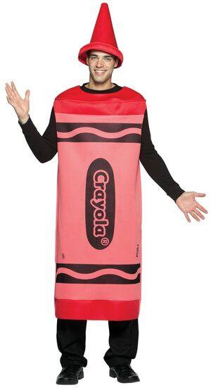 Adult Red Crayola Crayon Costume