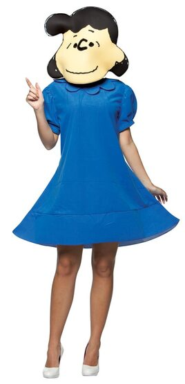 Womens Adult Peanuts Lucy Costume