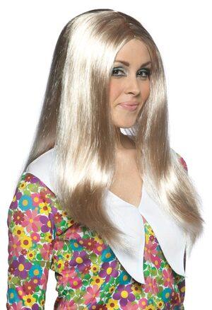 Adult Marcia Brady 70s Wig