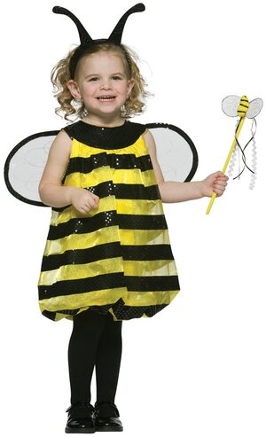 Girls Toddler Bumble Bee Costume