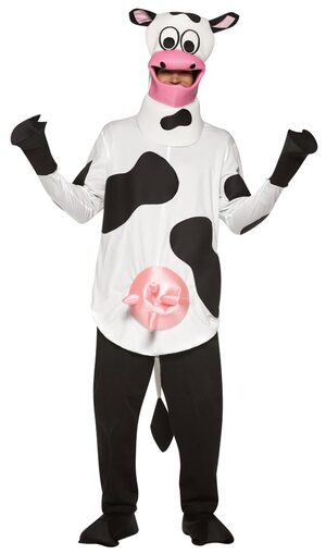 Adult Lightweight Funny Cow Costume