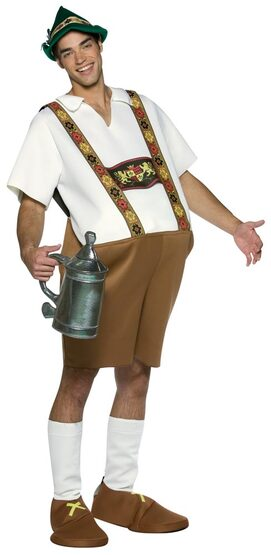 Adult Mr Meister Funny Oktoberfest Costume
