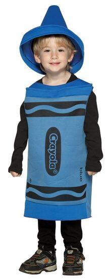 Toddler Blue Crayola Crayon Costume