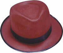 Adult Durashape Fedora Hat - Brown