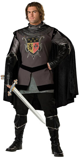 Elite Mens Medieval Dark Knight Costume