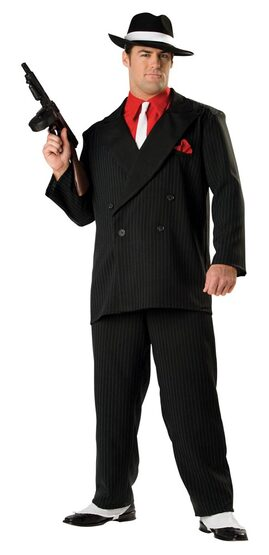 Elite Mens Gangster Costume