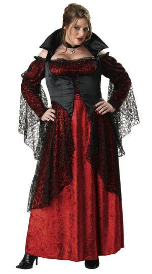 Plus Size Classic Vampiress Costume