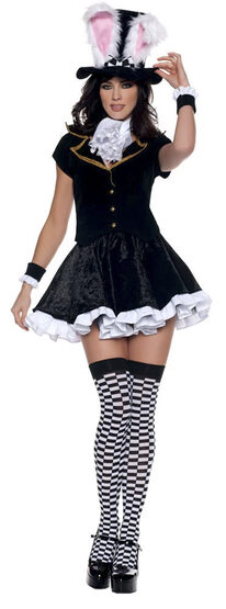 Womens Totally Sexy Mad Hatter Costume