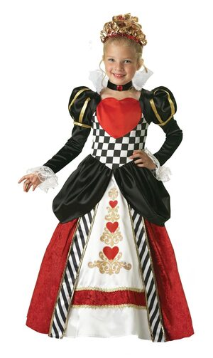 Girls Queen of Hearts Kids Costume