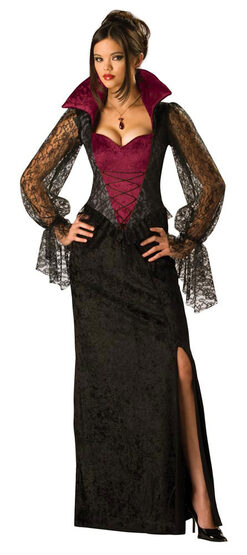 Midnight Vampiress Adult Costume