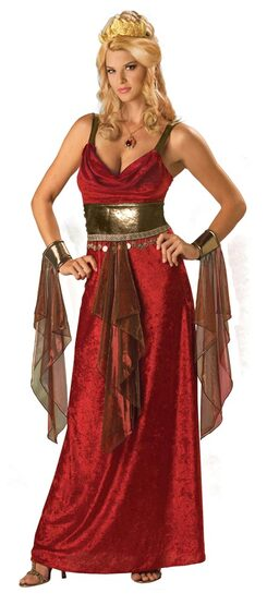Womens Glamorous Greek Goddess Costume