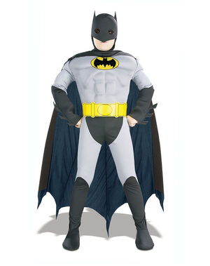 Batman Muscle Chest Kids Costume