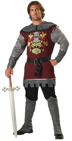 Adult Medieval Noble Knight Costume