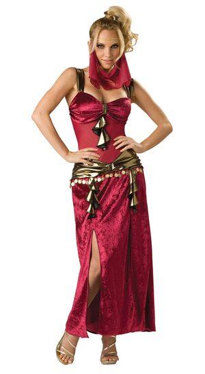 Womens Egyptian Desert Dancer Costume