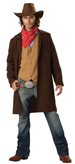 Mens Rawhide Renegade Adult Cowboy Costume