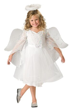 Girls Angel Baby Kids Costume