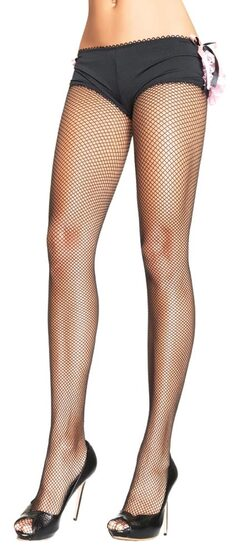 Plus Size Sexy Black Fishnet Pantyhose