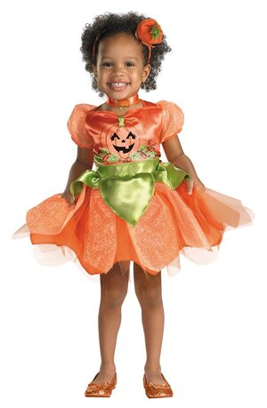 Girls Pumpkin Patch Princess Toddler Costume