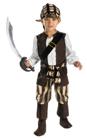Toddler Rogue Pirate Kids Costume
