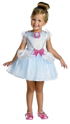Kids Disney Cinderella Toddler Ballerina Costume